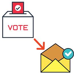 pedir el voto por correo