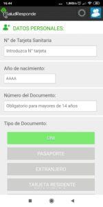 registrarse en la app de intersas