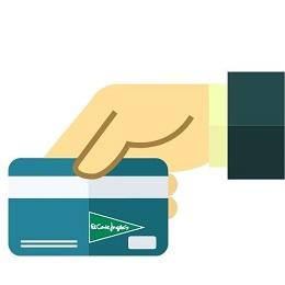 Solicitar tarjeta de compra de El corte ingles