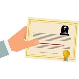 solicitar el certificado de defuncion