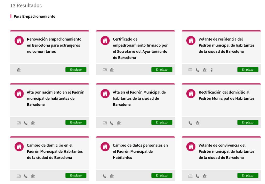 empadronamiento online en barcelona